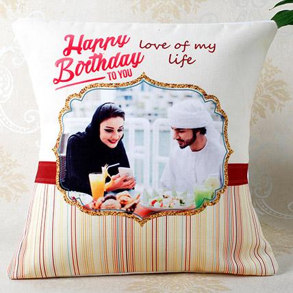 Personalised Cushion Birthday Gift