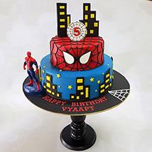 2 Tier Spiderman Cake: Spiderman Cake Ideas