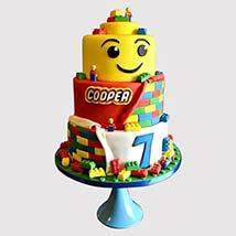 3 Tier Lego Cake: Lego Cake