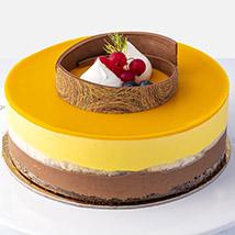 4 Portions Mango Cake: Mango Cake