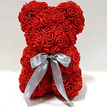 Artificial Roses Teddy Red: