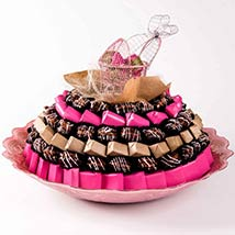 Baby Girl Chocolates and Dates Tray: Dates