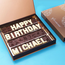 Customized Birthday Chocolate: Personalised Gifts for Mother