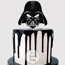 Darth Vader Helmet Mask Cake: Star Wars Birthday Cakes