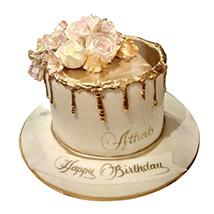 Delightful Roses Cake: Designer Cakes