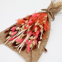Dried Lagurus and Pampus Bouquet: Dried Flowers