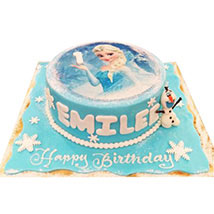 Elsa The Frozen Princess Cake: