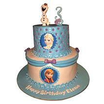 Frozen Starcast Cake: Frozen Cake
