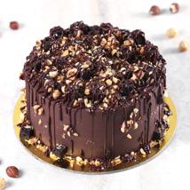 Gluten Free Choco Hazelnut Crunch Cake: