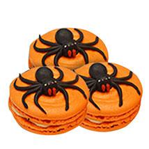 Halloween Spider Macarons: Halloween Cakes