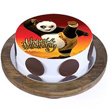 Kung Fu Panda Cake: Cartoon Cake