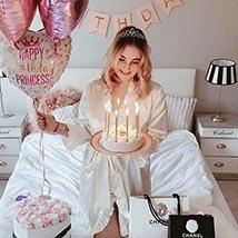Lovely Birthday Surprise: Balloon Decoration Dubai