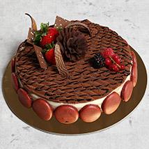 Luscious Triple Chocolate Cake: Chocolate Cake
