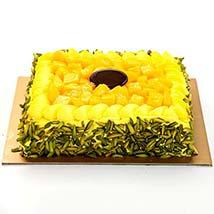 Mango Mousse Cake: