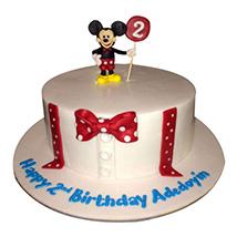 Mickey Cartoon Cake: Mickey Mouse Cake