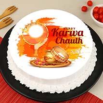 Moonlight Karvachauth Cake: Karwa Chauth Gifts