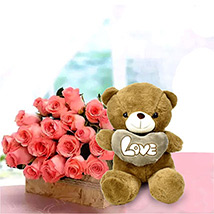 Perfect Fantasy: Anniversary Flowers & Teddy Bears