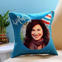 Personalised Birthday Cap Cushion: Birthday Personalised Gifts