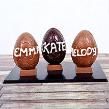 Personalised Chocolate Easter Egg: Easter Gifts Dubai