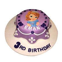 Princess Sofia Cake: Princess Birthday Cake