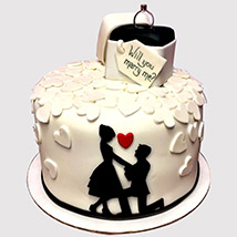 Propose Her Cake: Engagement Cakes