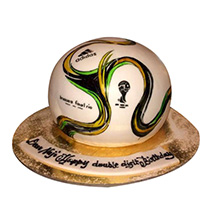 Rio Football Cake: Football Theme Cake