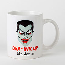 Scary Dracula Mug: Halloween Gifts