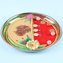 Swastika Pooja Thali: Karwa Chauth Gift to Wife