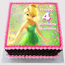 Tinker Bell Photo Cake: Tinkerbell Cakes