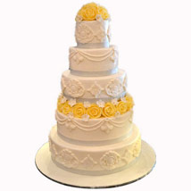 Yellows and the Mellows: Wedding Cakes