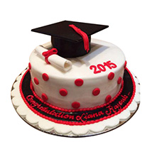 Convocation Degree Cake: Graduation Theme Cakes