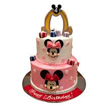 Cartoon Minnie Cake: Minnie Mouse Cakes
