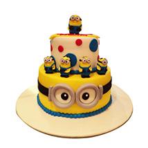 World of Minions Cake: Minion Birthday Cake