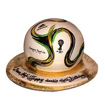 Rio Football Cake: Football Cake
