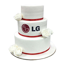 LG Corporate Cake:  Business Gifts
