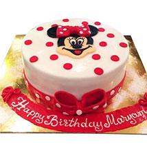 Pretty Minnie Cake: Minnie Mouse Cake