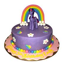 Pony The Cartoon Cake: Little Pony Cake