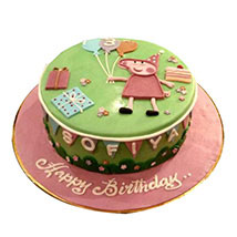 Peppa Pig Cake: Peppa Pig Birthday Cake