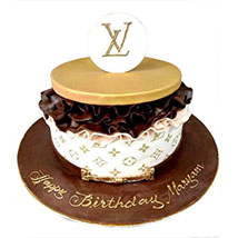 Louis Vuitton Cake: Designer Cakes  Delivery
