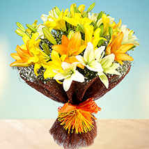 Sunny Asiatic Lilies: I Am Sorry Flowers