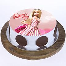 Stylish Barbie Cake: Barbie Cake