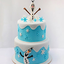 Olaf The Snowman Cake 5 Kg: Frozen Birthday Cake