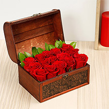 Treasured Roses: Midnight Gifts Delivery