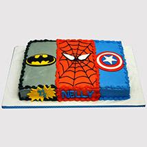 Avengers Cream Cake: Avengers Cakes