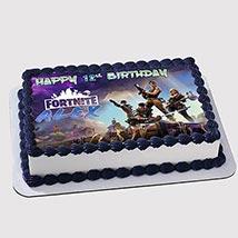 Fortnite Birthday Photo Cake: Fortnite Birthday Cakes