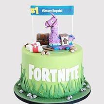 Fortnite Unicorn Floaties Cake: Fortnite Cakes