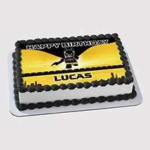 Lego Batman Photo Cake: Lego Birthday Cake
