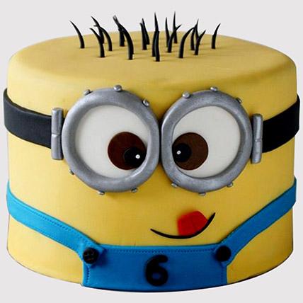 Minion Themed Cake: Minion Birthday Cake