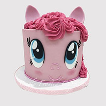 Pinkie Pie Designer Cake: Little Pony Cake