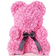 Artificial Roses Teddy Light Pink: Rose Teddy Bears